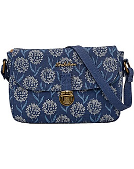 Brakeburn Spring Flower Saddle Bag
