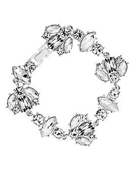 Lipsy Crystal Cluster Bracelet