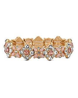 Lipsy Floral Crystal Bracelet