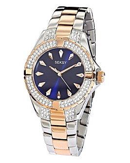 Seksy Ladies Two-Tone Bracelet Watch