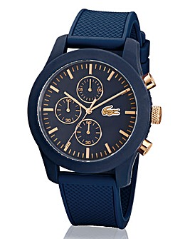 Lacoste Chronograph Blue Strap Watch