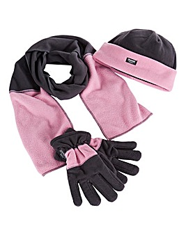 Thinsulate lined Hat Gloves & Scarf Set