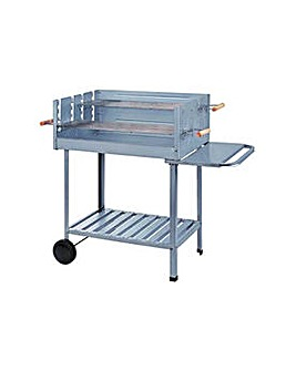 Deluxe Charcoal Rectangle Party BBQ