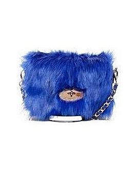 Claudia Canova Single Strap Faux Fur