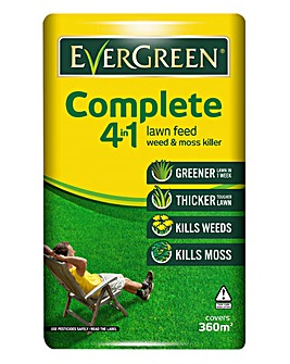 EverGreen Complete Lawn Feed 360m