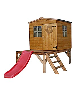 Mercia Bluebell Tower Playhouse & Slide