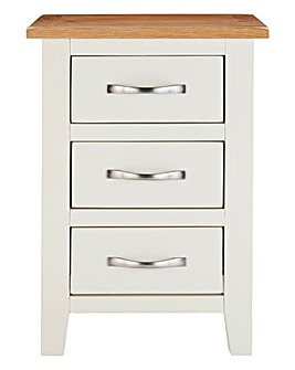 Harrogate Two Tone Bedside Table