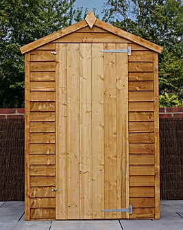 Mercia 4 x 3 Overlap Apex Shed