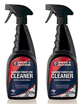 S&J Garden Furniture Cleaner Twin Pack