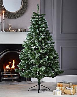 Woodcote Spruce Flocked Tree