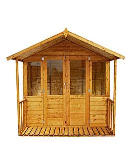 8x7 - Traditional Summerhouse - Veranda