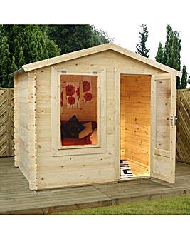 Mercia 2.5 x 2m Log Cabin