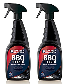 Spear & Jackson BBQ Cleaner Twin Pack