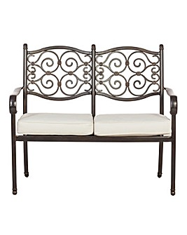 Versailles Two Seater Bench