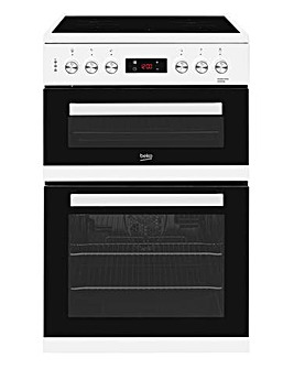 Beko 60cm double oven ceramic