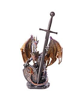 Fire Shield Dragon Ornament