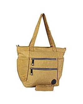 New Rebels Crinkle Nylon Shopping Bag