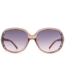 Carvela Textured Temple Sunglasses