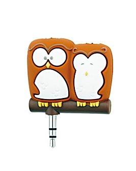 Headphone Splitters - Owls