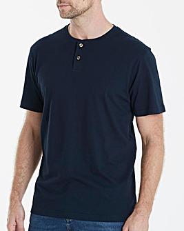 Capsule Navy Grandad T-Shirt L
