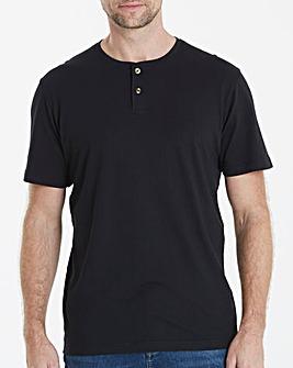 Capsule Black Grandad T-Shirt R