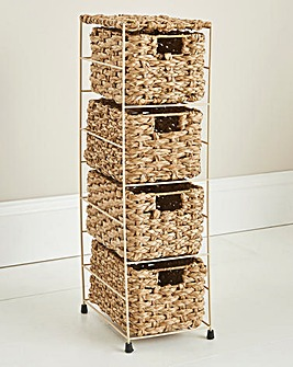Chunky Rush 4 Tier Drawer Unit