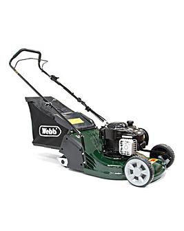 WEBB 43cm Petrol Rear Roller Push Mower
