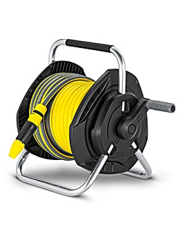 Karcher 25m Hose Reel & Spray Nozzle