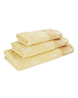 Art Deco Bath Towel