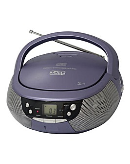 JDW CD/Radio Purple