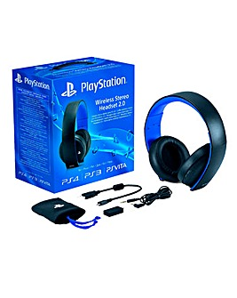 PlayStation Wireless Headset 2.0 (PS4)