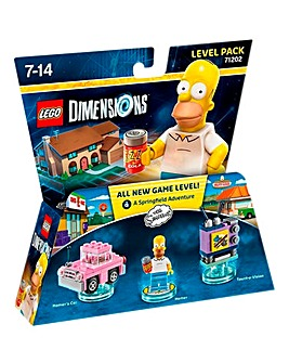 Lego Dimensions: Simpsons Level Pack