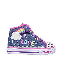 Skechers Shuffles Sparkle Skies Lace-Up