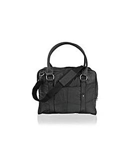 Woodland Leather Satchel Briefcase
