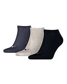 3 Pair Puma Sneaker Socks