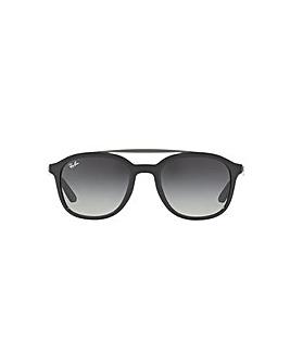 Ray-Ban Square Double Bridge Sunglasses