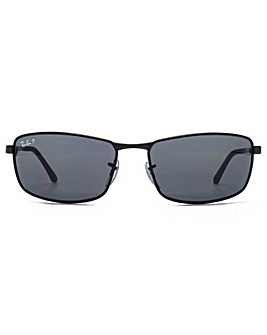 Ray-Ban Rectangle Wrap Sunglasses