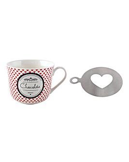 La Cafetiere Hot Chocolate Mug Gift Set