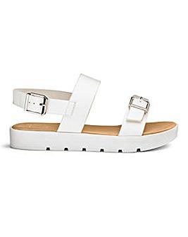 Sole Diva Twin Strap Sandal E Fit