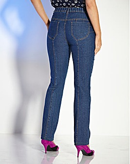 TRULY WOW Slim Leg Jeans Long