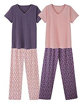 Pretty Secrets 2 Pack Pyjama Set