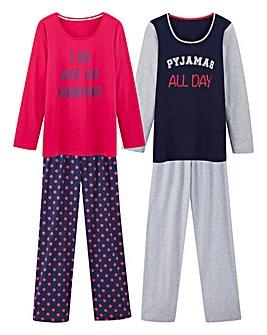 Pretty Secrets Pack 2 Pyjama Sets