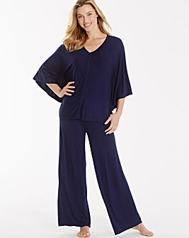 Pretty Secrets Wide Leg Loungewear Set
