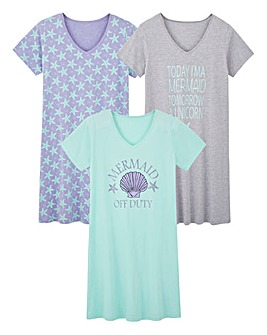 Pretty Secrets Pack of 3 Nighties L46