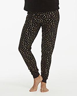 Pretty Secrets Star Print Cuffed Trouser