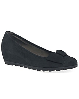 Gabor Gable Womens Wedge Heel Shoes