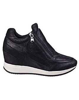Geox D Nydame Womens Wedged Trainer
