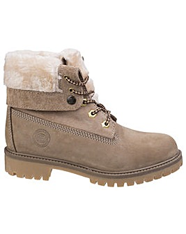 Darkwood Walnut Womens Casual Boot