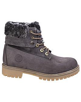 Darkwood Walnut Womens Casual Boot