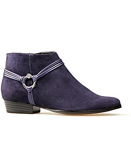 Van Dal Jarratt Ankle Boots Wide E Fit